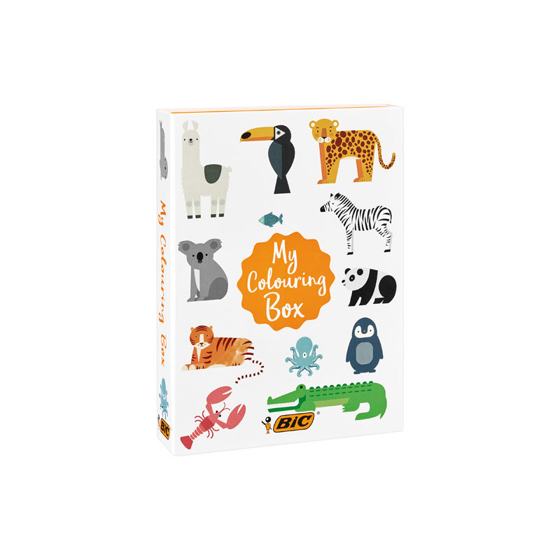 "CAJA BIC KIDS ""MY COLOURING BOX"" ANIMALES"