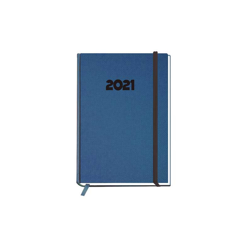 AGENDA 2021 MYRGA PEÑAFIEL PLUS DÍA PÁGINA 14,5x21 cm