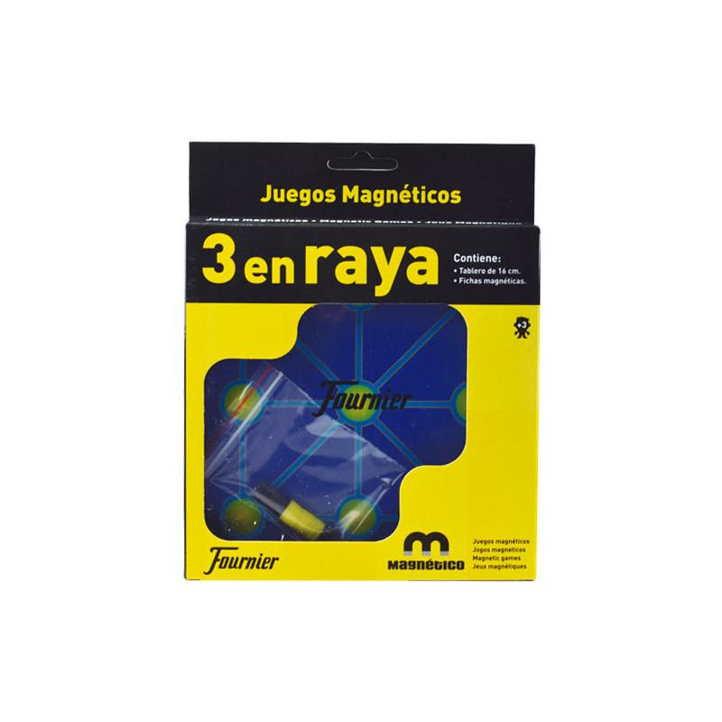 JUEGO MAGNÉTICO FOURNIER 3 EN RAYA