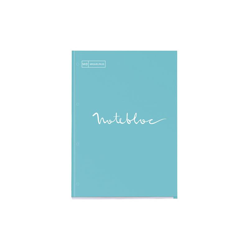 """BLOC MIQUEL RIUS NOTEBOOK 1 """"EMOTIONS"""" 80h A4 5x5 PASTEL"""
