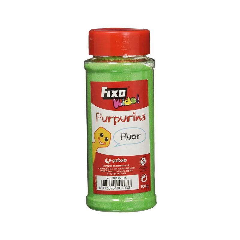 PURPURINA FIXOKIDS EFECTO FLÚOR 100gr
