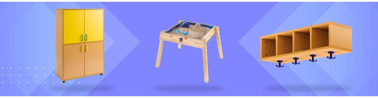 Mobiliario y equipamiento escolar